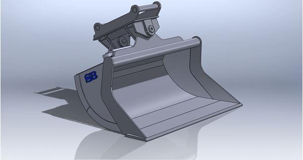Bild på Planerskopor minigrävare